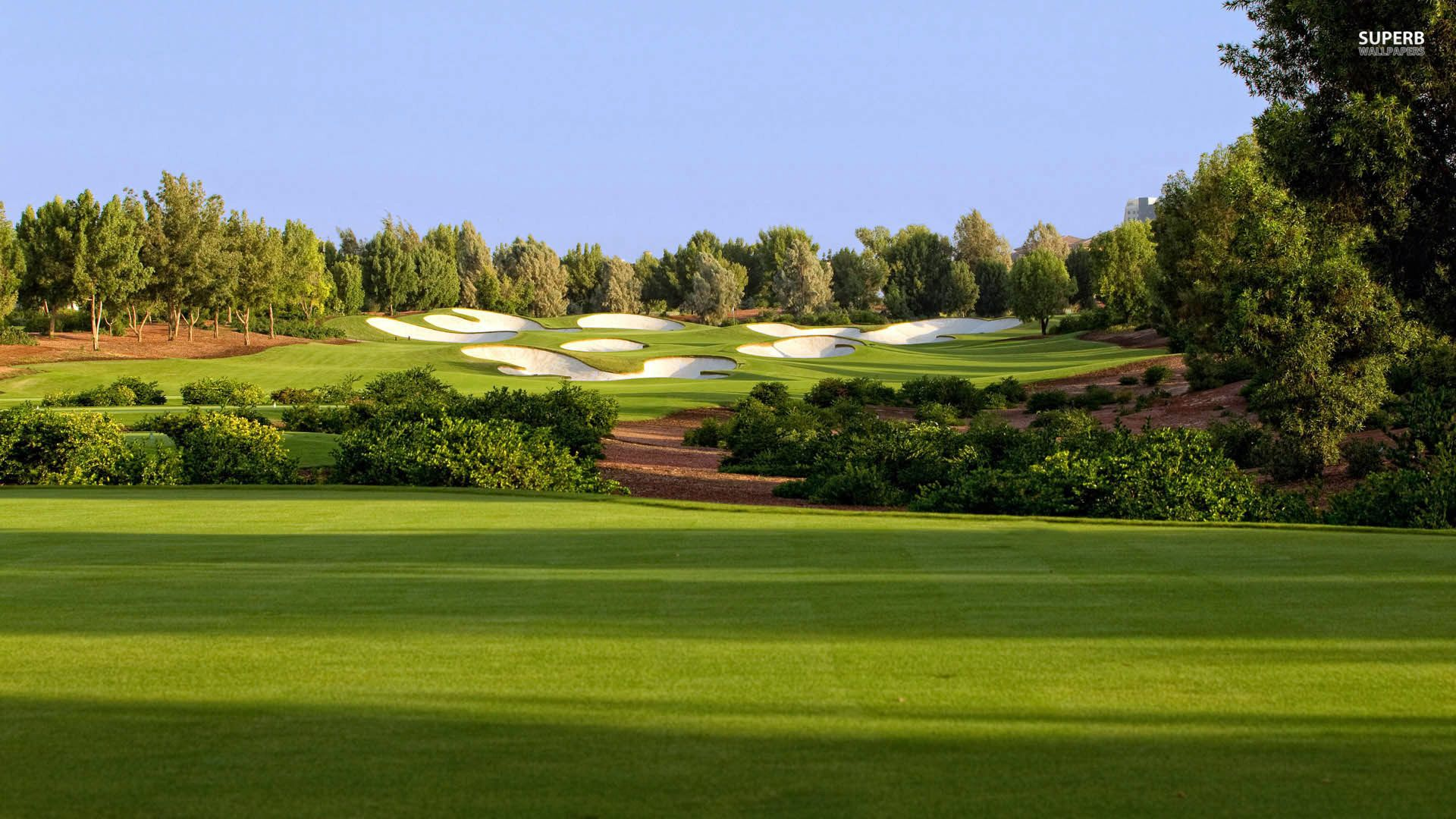 Download Jumeirah Golf Estates 1920x1080 HD Wallpaper