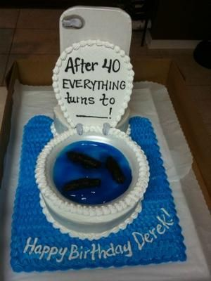 Funny sayings 40th birthday cakes