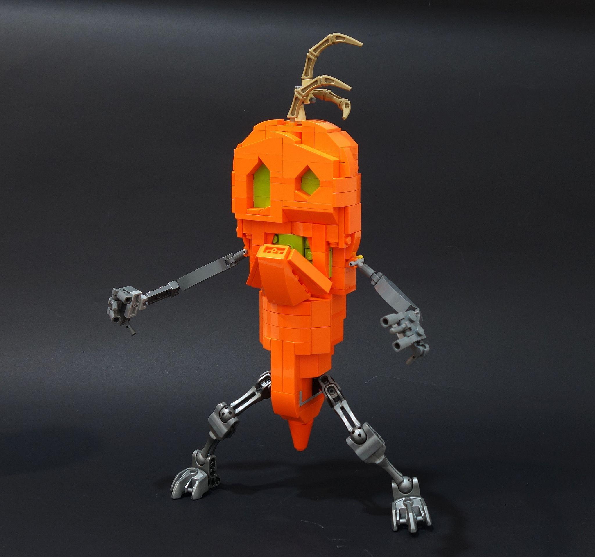Night Of The Living Carrots Monsters Vs Aliens Short Movie Lego