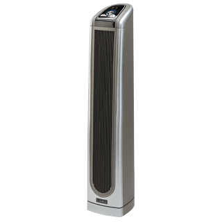 Lakso 34 Ceramic Tower Heater With Remote Tower Heater Heater Lasko