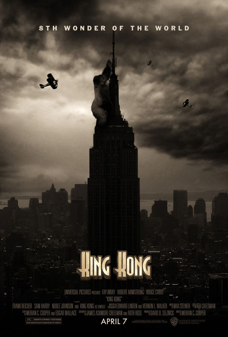 King Kong Movie Poster 2005 King Kong King Kong Movie King