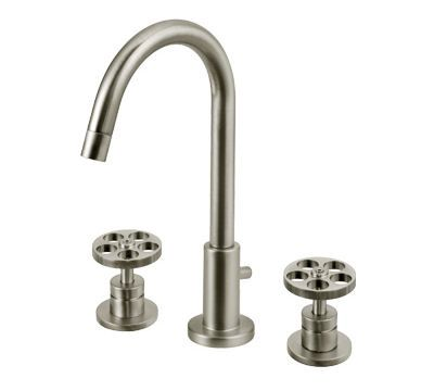 Century bathroom faucet from Ottone Meloda - a modern industrial ...
