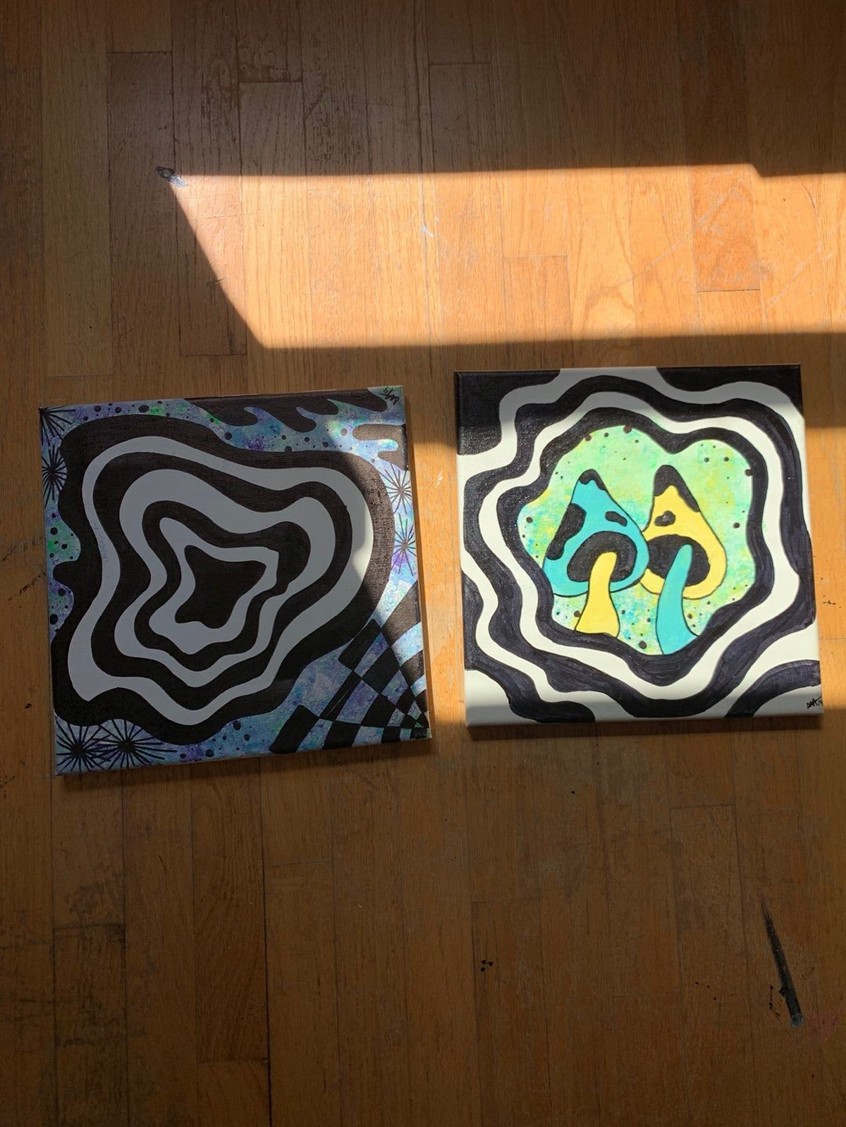 Trippy painting ideas