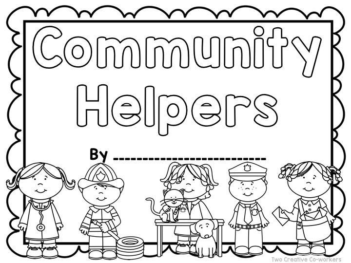 School Helpers Worksheets : Community workers my school helpers
