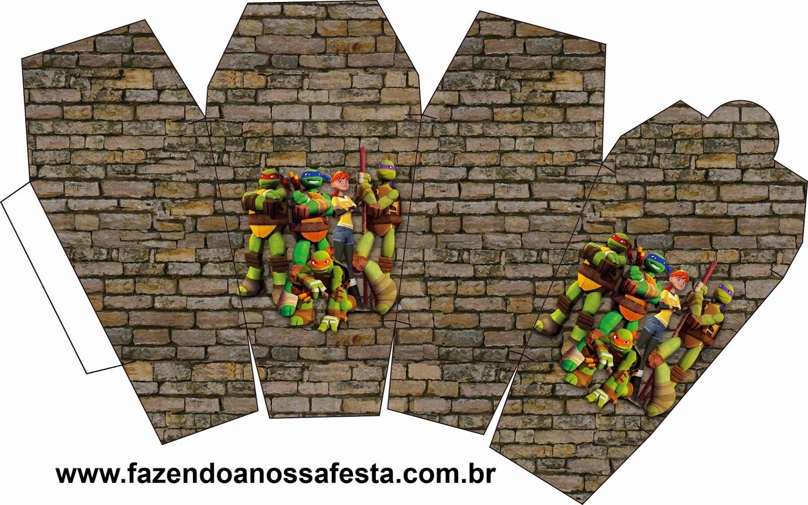 Tortugas Ninja: Cajas para Imprimir Gratis. | CANDY | Pinterest ...