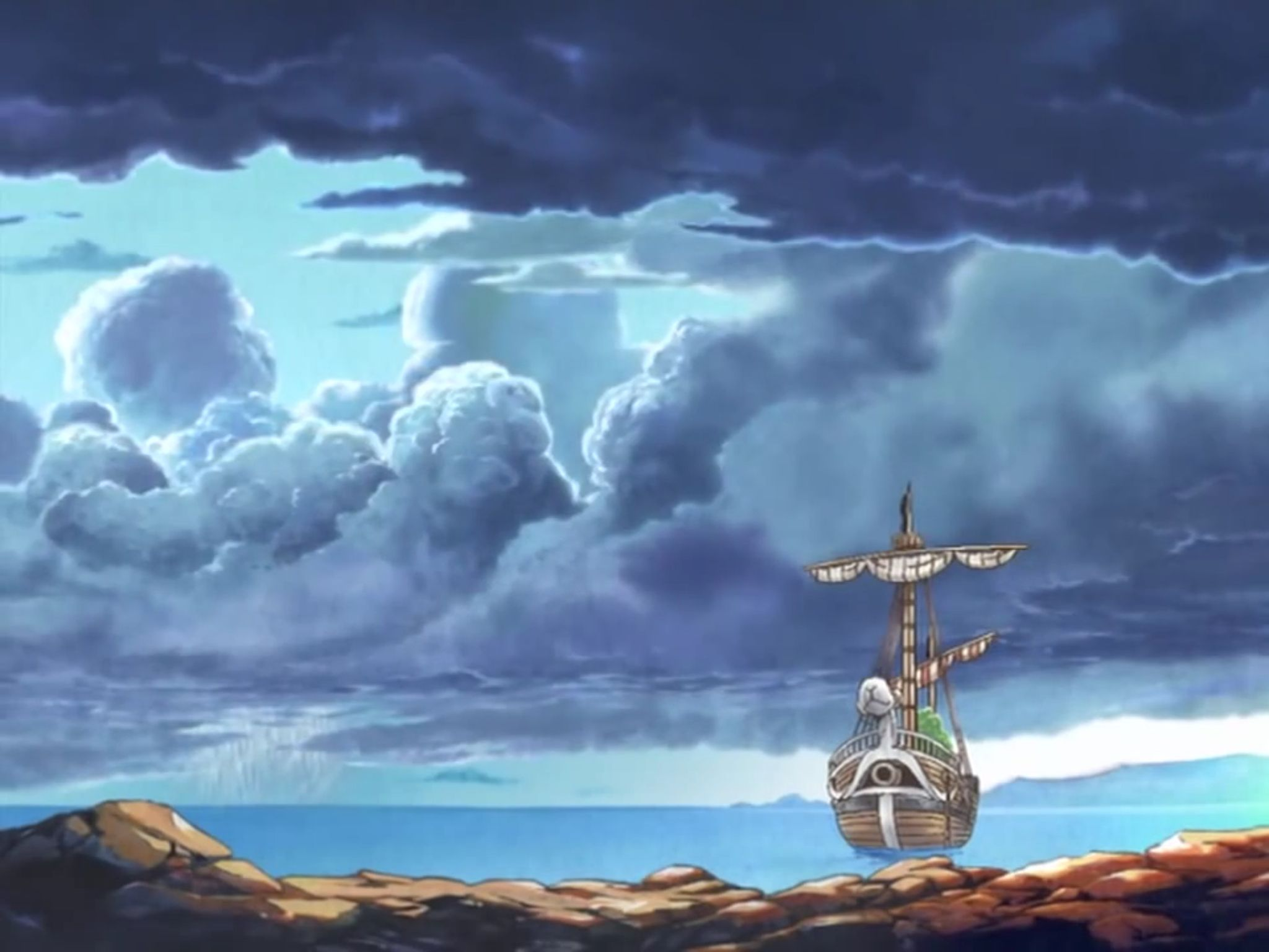 One Piece, Going Merry   One piece, Anime shows, Manga