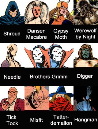 the Night Shift marvel comics - Google Search