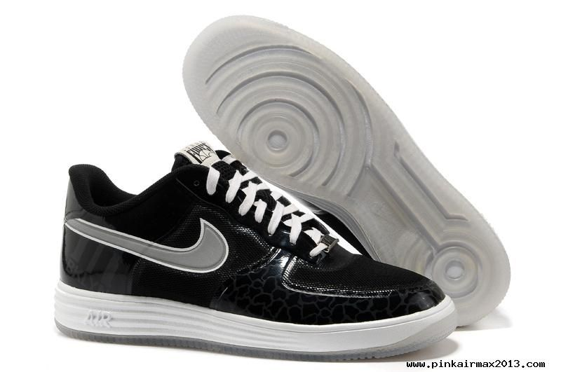 Nike Lunar Force 1 Fuse City Pack Brooklyn Black Silver 577666-002  air 3 Cheap
