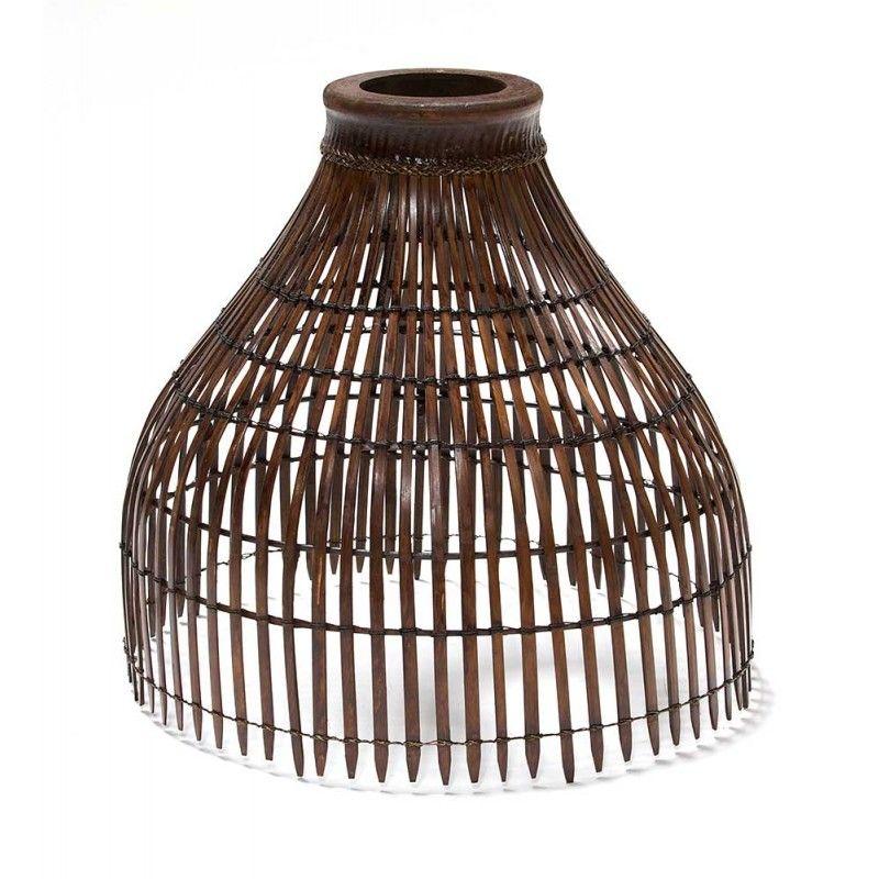MD Lampenschirm aus Bambus Large, dunkel auf shop.moebeldepot.at