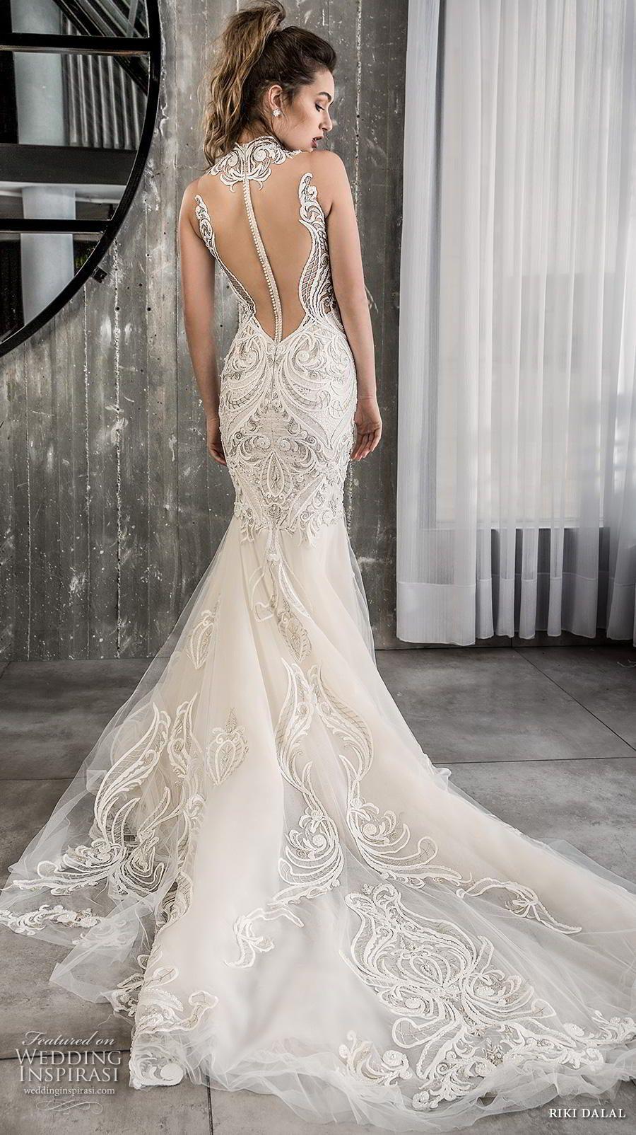 Riki Dalal 2018 Wedding Dresses Glamour Bridal Collection Wedding Inspirasi Wedding Dresses Lace Wedding Dresses Lace Mermaid Wedding Dress [ 1604 x 900 Pixel ]