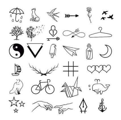 Drawing Tattoo Simple Inspiration 26 Ideas For 2019 Doodle Tattoo Minimalist Tattoo Tattoo Design Drawings