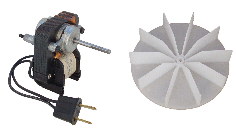 Universal Bathroom Fan Replacement Electric Motor Kit With Fan 115 Volts C01575 Bathroom Fan Bath Fan Bathroom Exhaust Fan