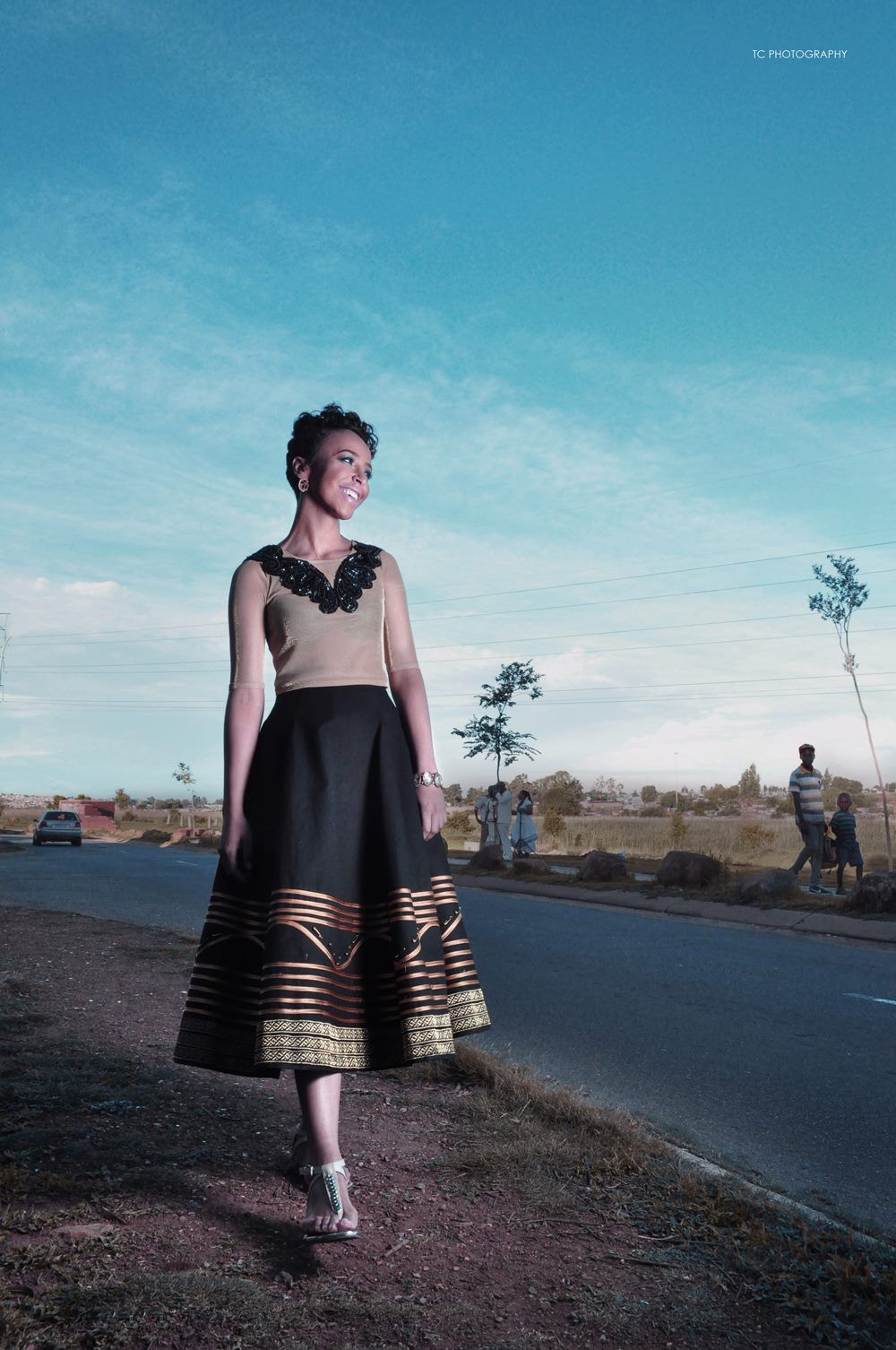 My own creation -contemporary Xhosa traditional ensemble -intrinsic ...