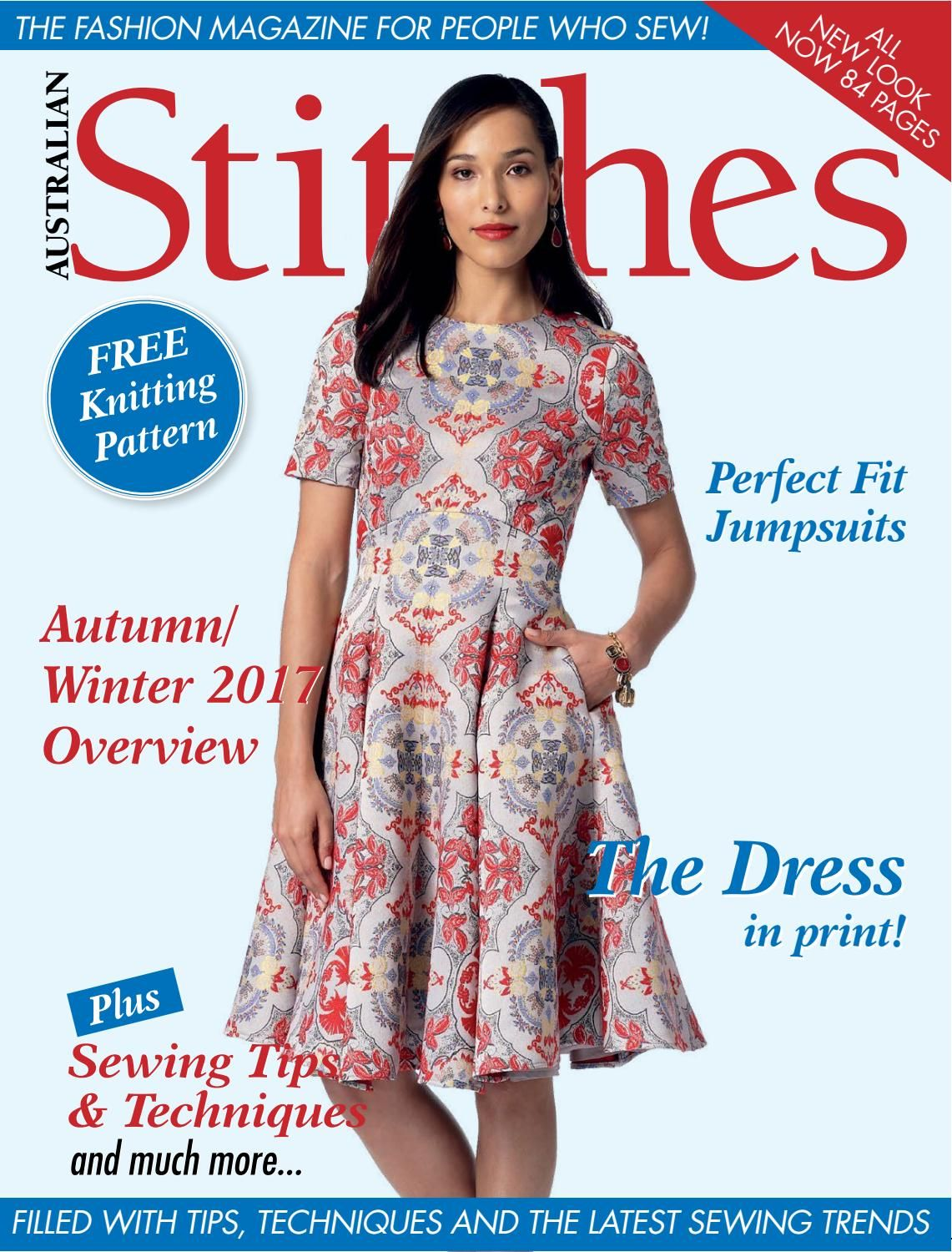 Australian stitches volume 25 issue 4 2017 sewing magazines australian stitches volume 25 issue 4 2017 jeuxipadfo Image collections
