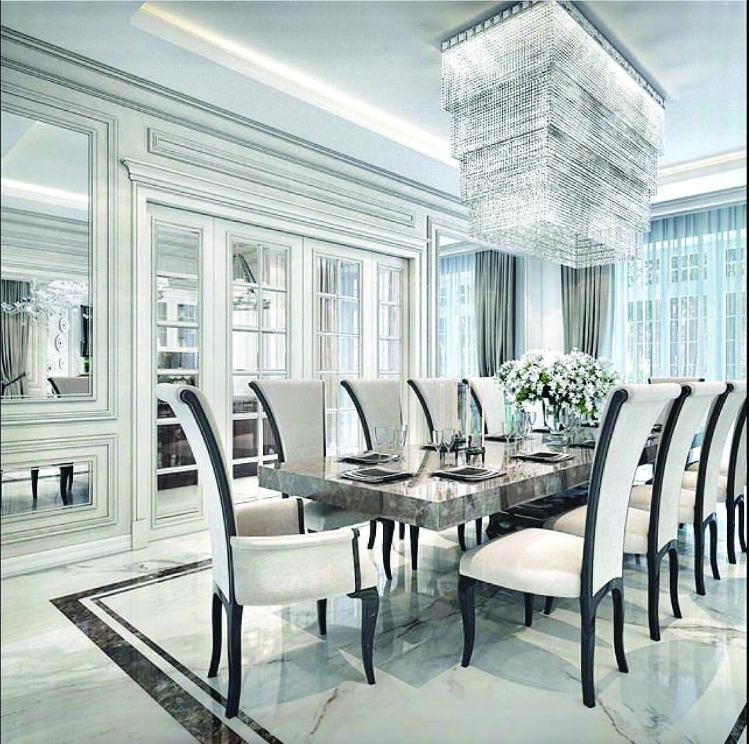 23 Dining Room Chandelier Designs Decorating Ideas: 15 Luxury Living Room Designs (Stunning