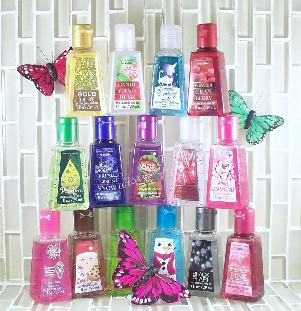 Details About 2 Bath Body Works Bride Tribe Pocketbac Anti