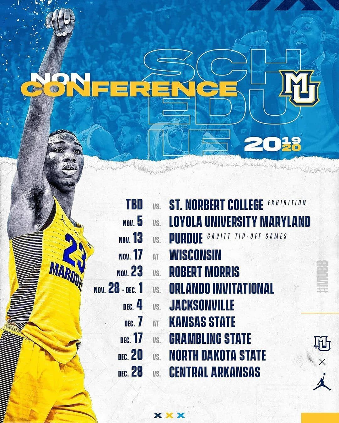 Uncommonthinking On Instagram Reposted From Marquette Basketball Lock It Down Mubb Smsports Sports Design Sports Graphics Instagram