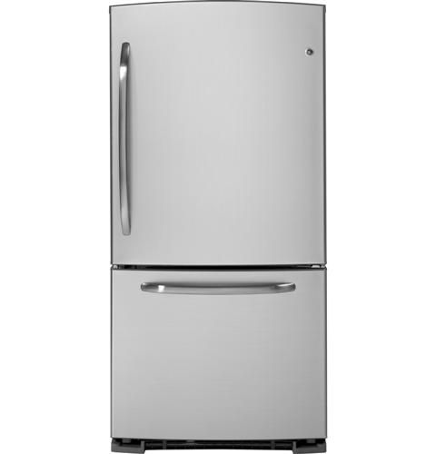 Ge Bottom Drawer Freezer Refrigerator I Ve Had The Side By Side With Ice And Water Each Side Is T Bottom Freezer Refrigerator Kitchen Redesign Bottom Freezer