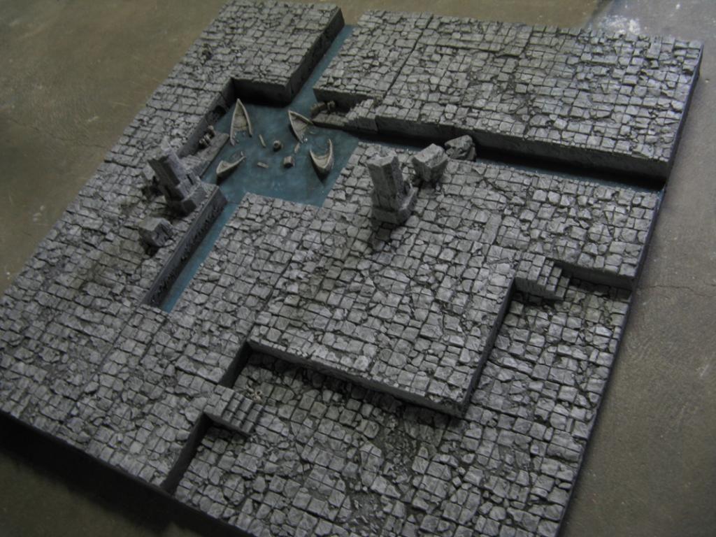 Nice city table | Game Terrain | Warhammer terrain, 40k