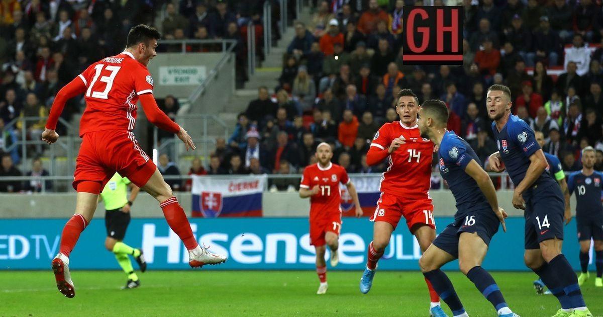 Slovakia 1 1 Wales Football Today Football Euro Soccer