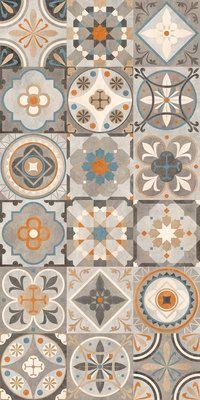 Carrelage Imitation Anciens Carreaux De Ciment Decor Formes