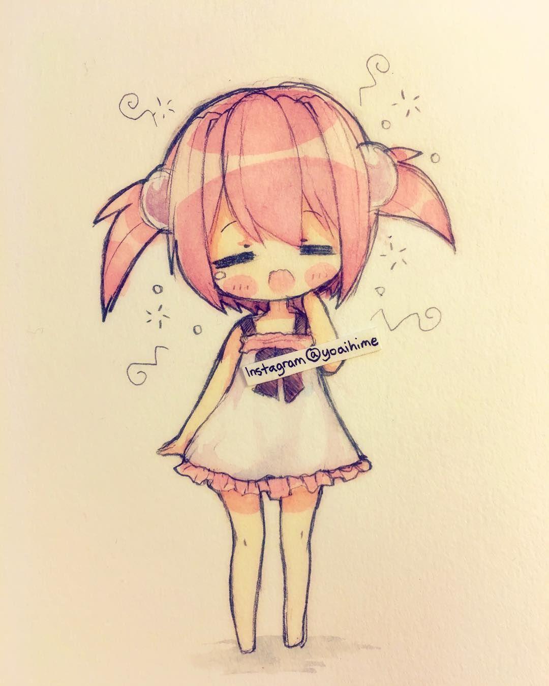 Anime chibi girl | good morning | Anime Art | Pinterest ...