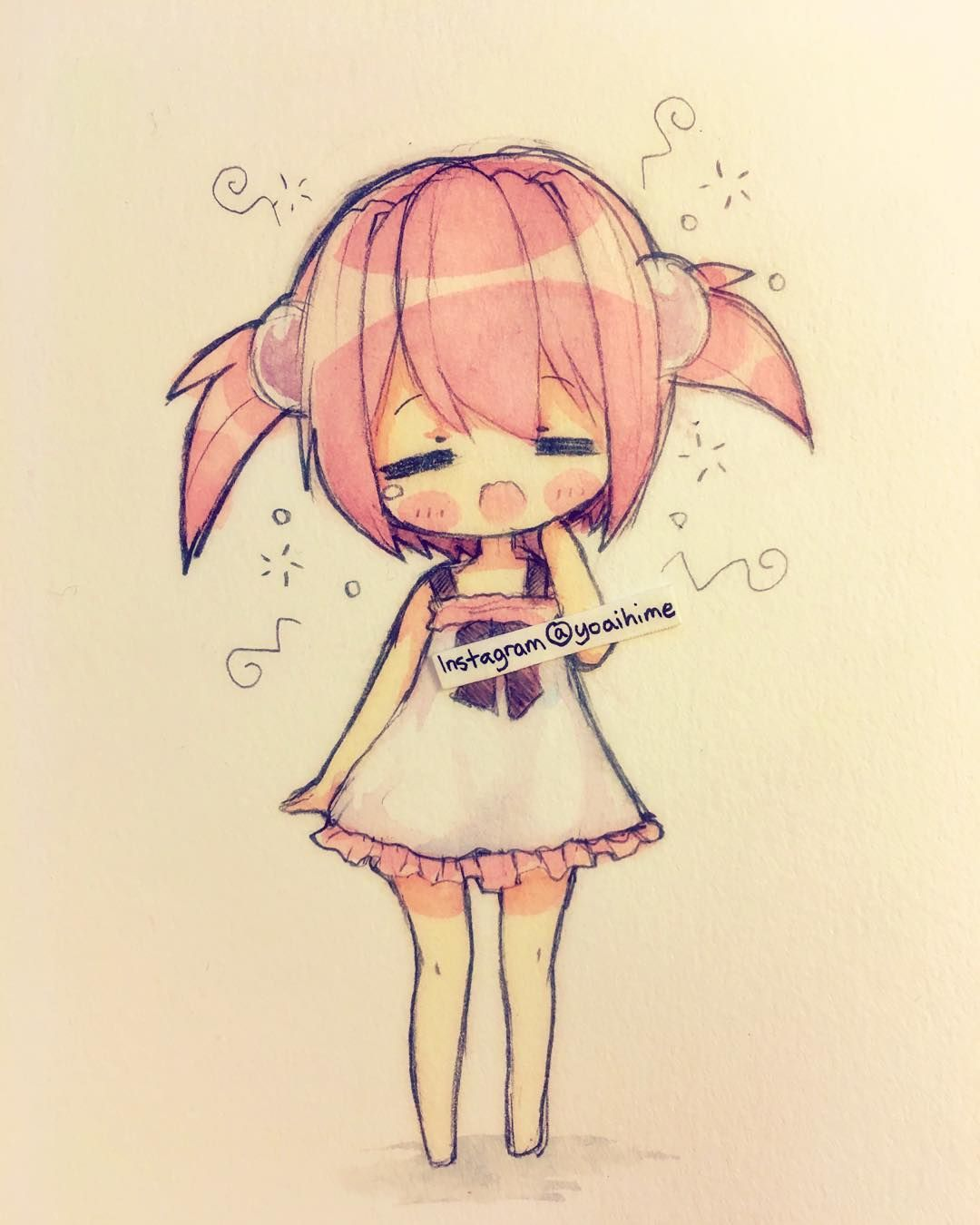 chibi anime characters drawings