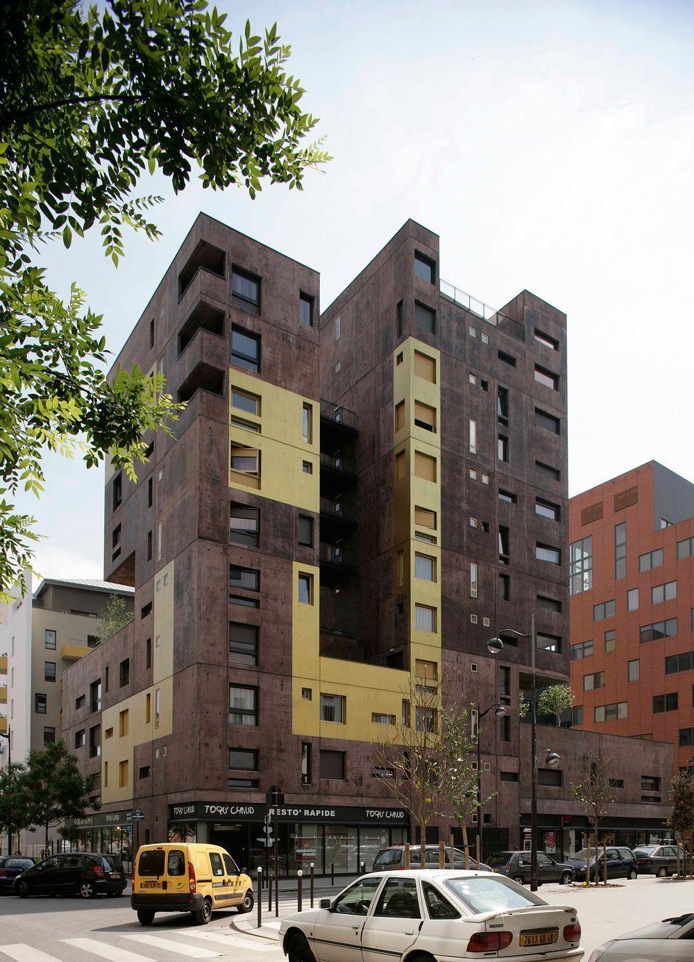 Beckmann N Thépé Logement Paris Architecte Plan Urbanisme