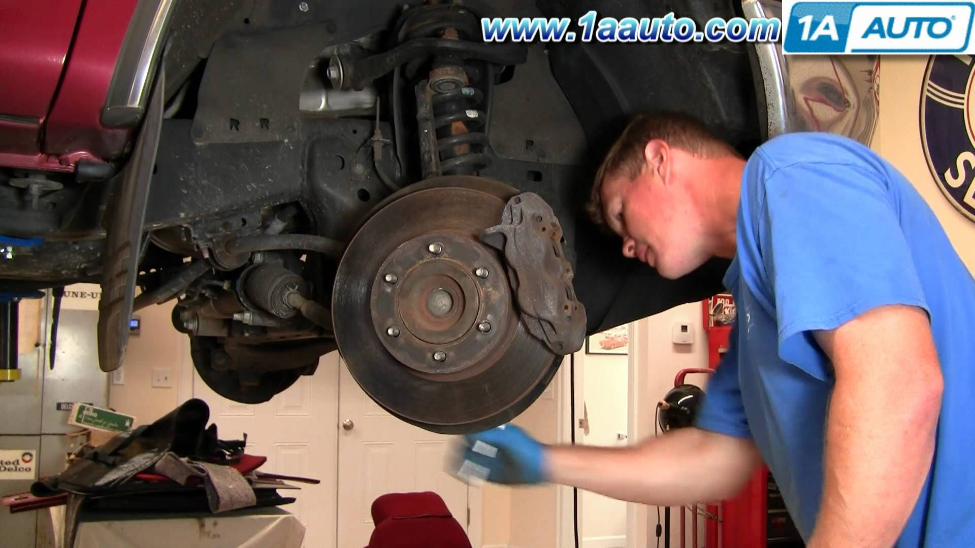 Http strictlyforeign biz how to install replace front brake rotors toyota