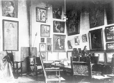 Gertrude Stein lived at rue de Fleurus 1903-1914