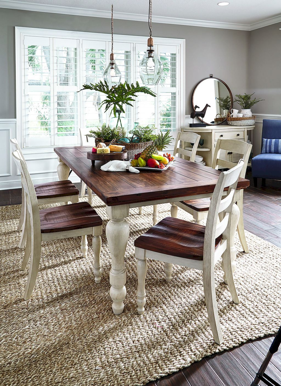 Stunning 55 Rustic Farmhouse Dining Room Table Ideas Insidecorate