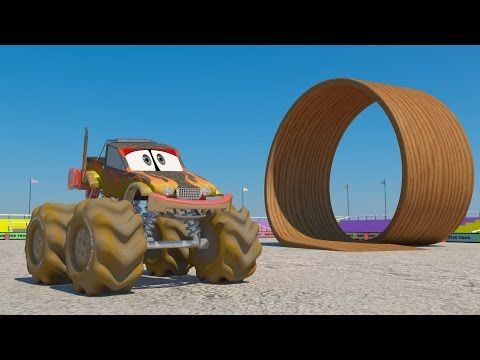 Car Wash 3d Monster Truck Car Wash Car Wash For Kids And Toddlers Monster Trucks Monster Truck Cars Cartoons For Toddlers
