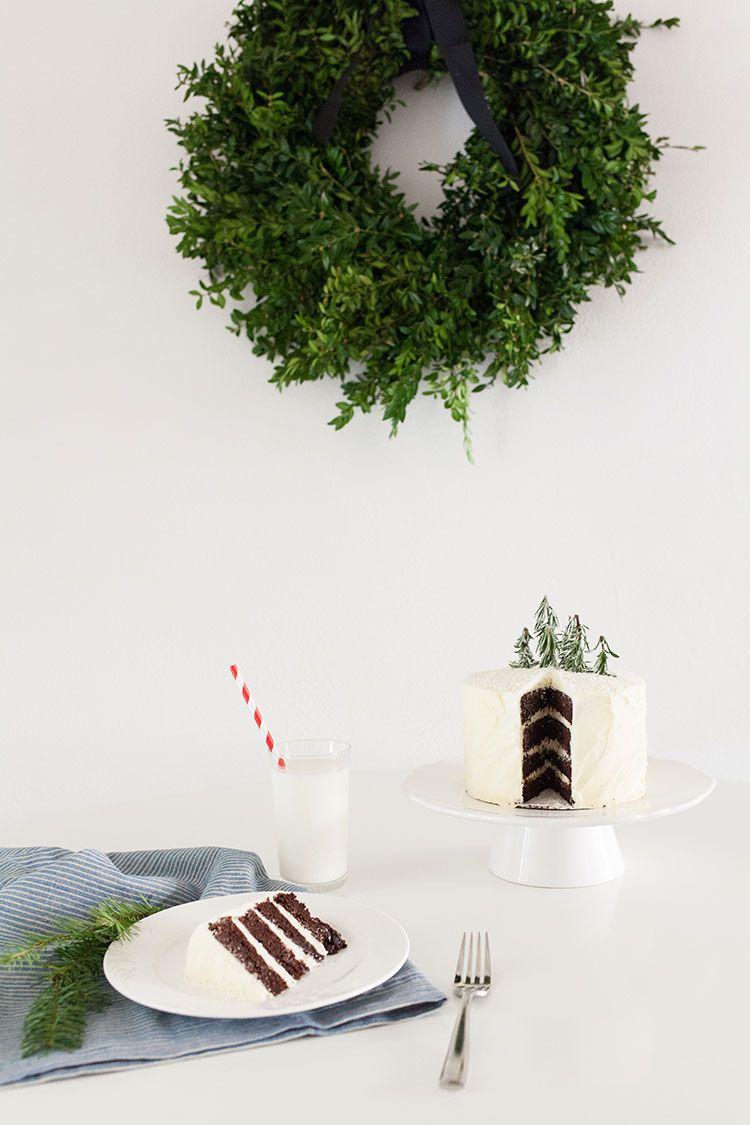 winter cake | matchbox kitchen for freutcake.