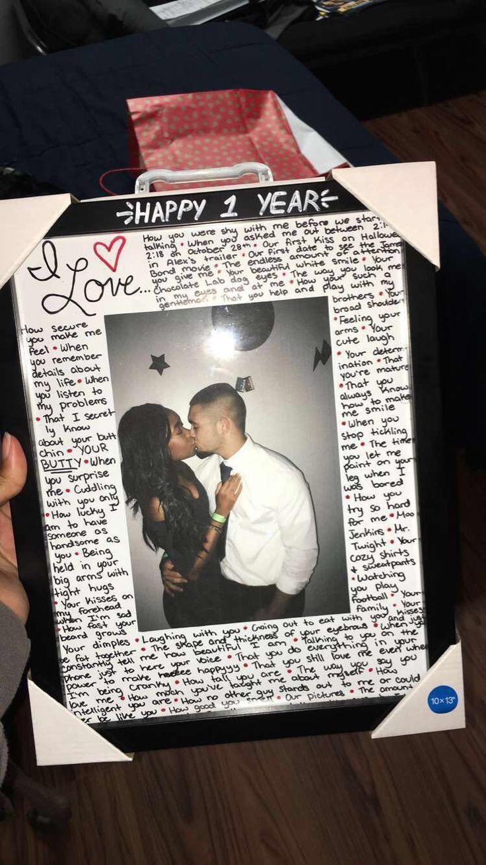 Homecoming Boyfriend Anniversary Gifts 1 Year
