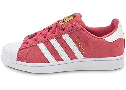 Adidas Superstar J Schuhe super pink running white runnin