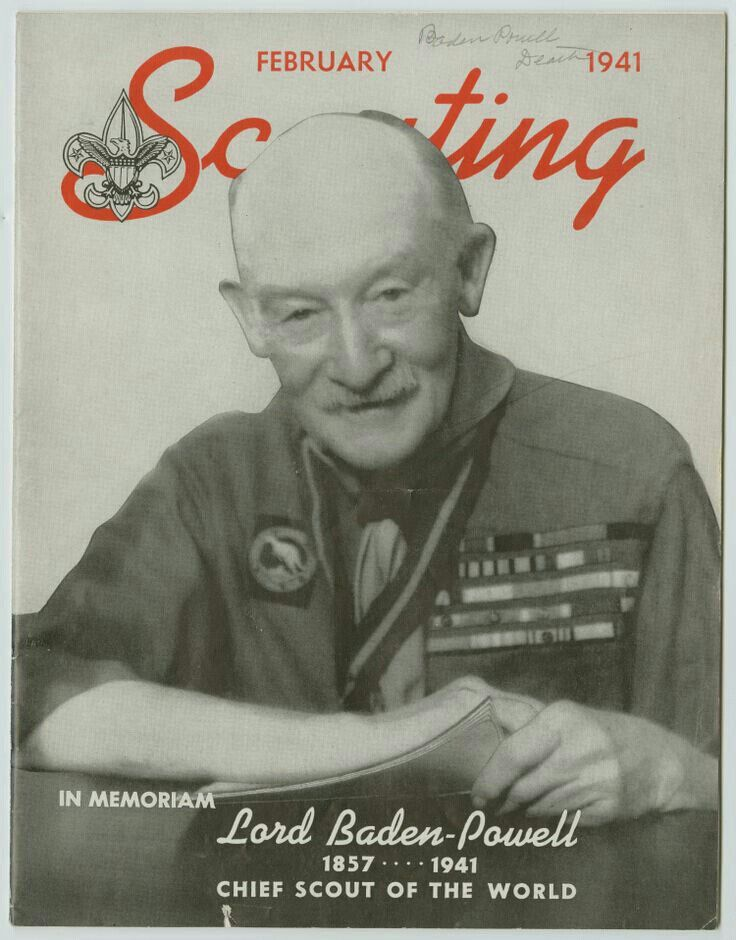 Lord Baden Powell Book Boy Scouts Girl Guides Baden Powell
