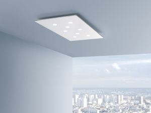 Plafoniere Led Moderne Design : Pop soffitto lampada da led bianco moderno