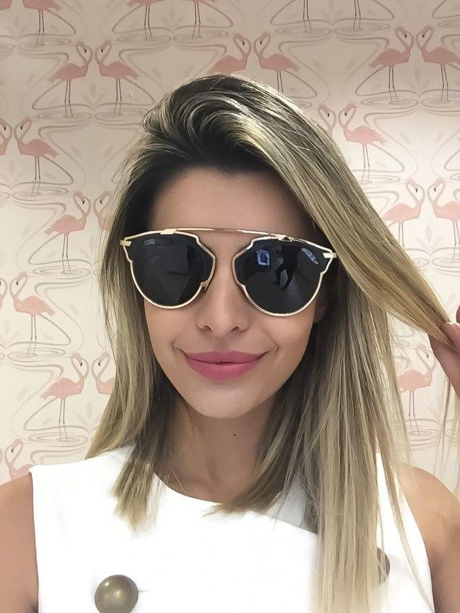 óculos dior de couro Óculos De Sol Dior, Óculos Escuros Feminino, Óculos  Feminino, 47dce19a3d
