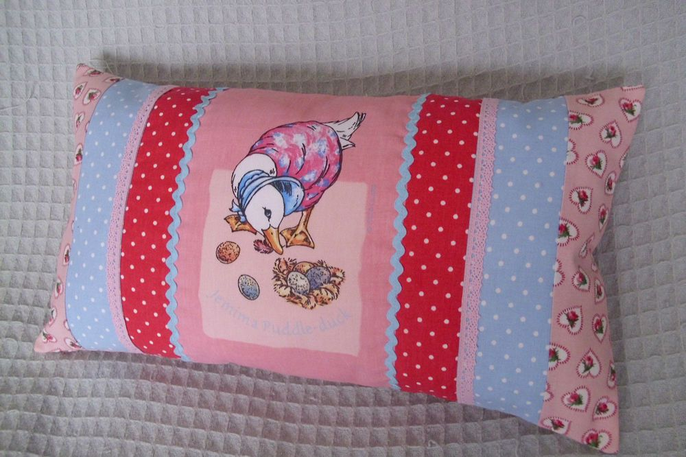 Pretty Cath Kidston Beatrix Potter Jemima Puddleduck Nursery Cushion Pillow In Baby