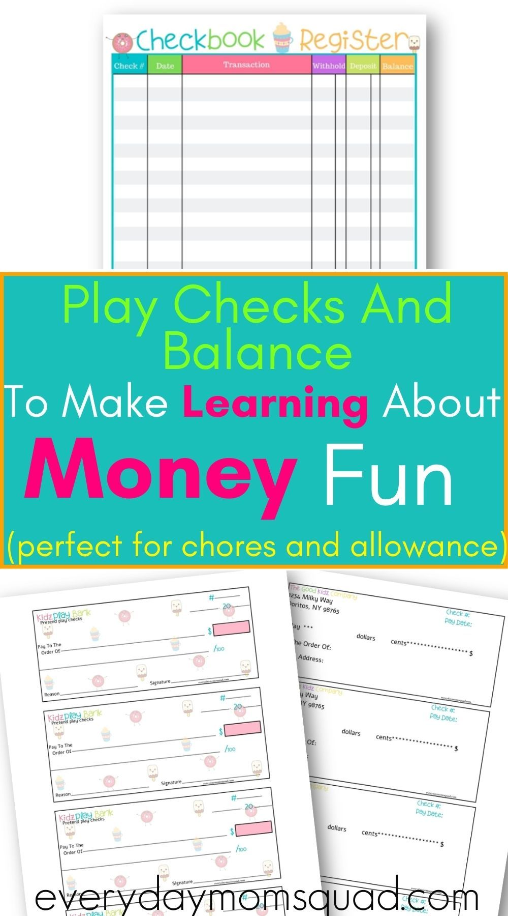 Kids Check And Balance Check And Balance How To Teach Kids Kids Learning Activities