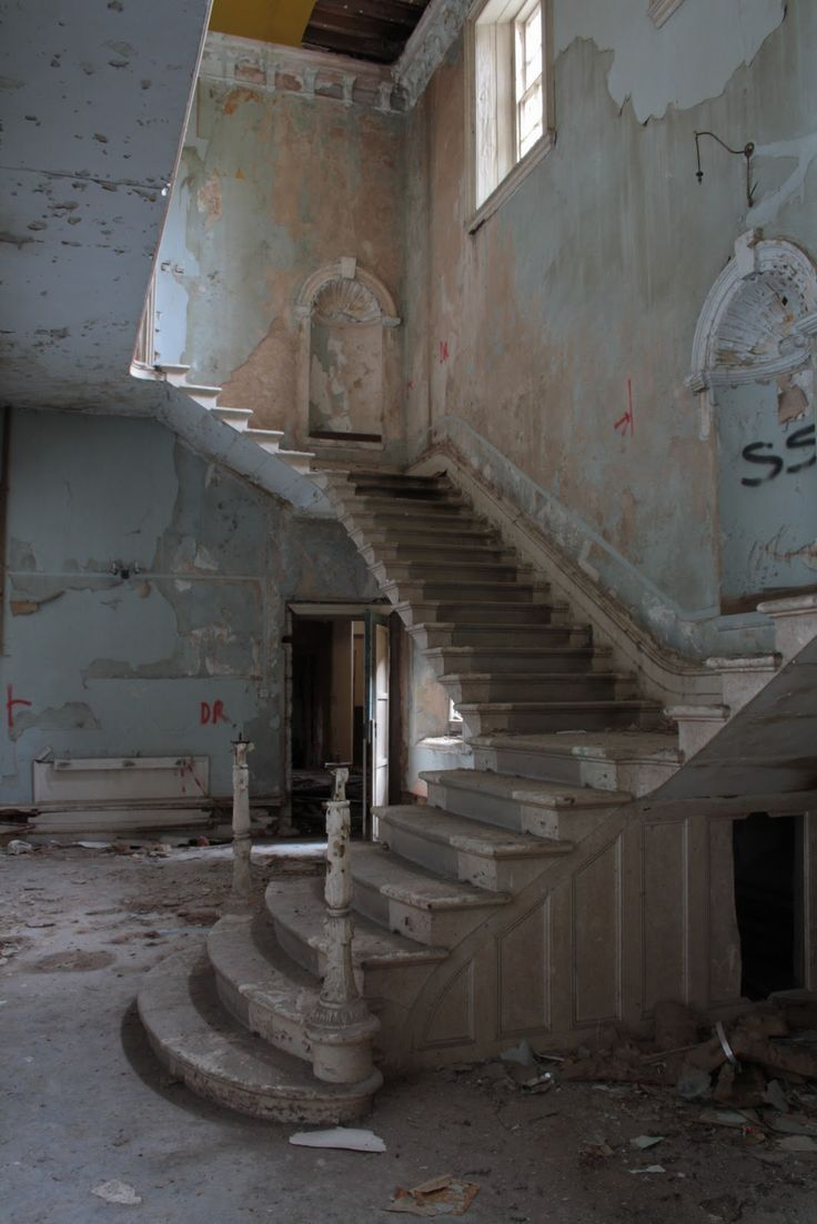 Abandoned Lincolnshire County Asylum / England