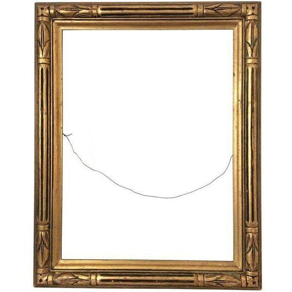 Vintage Hollywood Regency Gold Frame (135 TND) ❤ liked on Polyvore ...