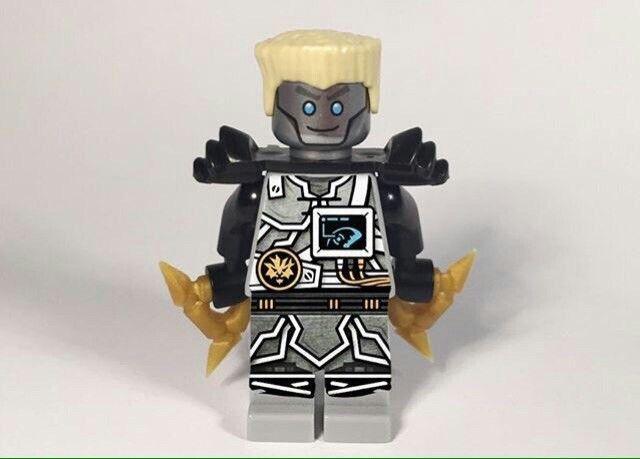 Season 7 Zane minifigure Lego