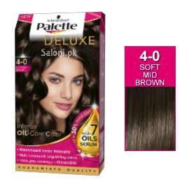 Schwarzkopf Palette Deluxe Intensive Oil Care Color Soft Mid Brown