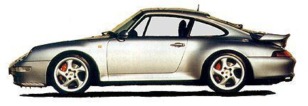 Porsche 911 Turbo (993 coded)