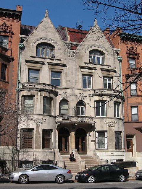 New York City's Upper West Side renaissance revival row houses; designed by Lamb & Rich and built in 1891