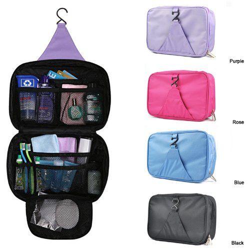 6bbffb8d50 DIGITRONICS LTD Unisex Luxury Holiday Travel Wash Bag Toiletry  ToiletriesnHanging MakeUp Mens Ladies Cosmetic Beauty Wash Bag Zipper  Organizer Hanging ...