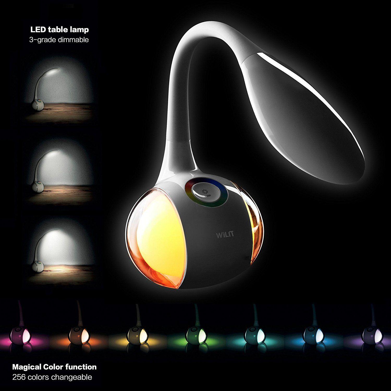 Wilit Hz T3 5w Dimmbare Led Schreibtischlampe Nachttischlampe