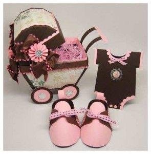Imágenes De Invitaciones Para Baby Shower Forma Zapatito 8