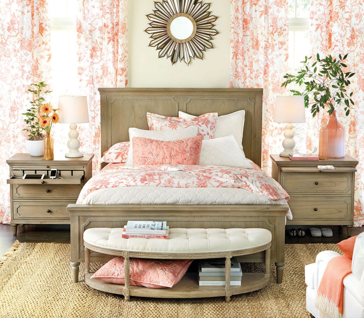 Bedroom Decorating Ideas Totally Toile: Discount Bedroom Furniture